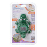 DREAMBABY® Digital screen kamer & bad thermometer (krokodil design)_