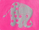 Reer reflecterend bandje met LED   roze - olifant _