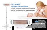 2in1 warmtestraler voor babykamer