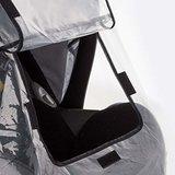 REER Designline Baby regenbescherming voor autostoeltjes | Antraciet_