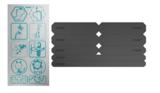 Reer reflecterende stickerset (18 stuks)