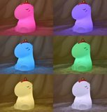 7 kleuren in 1 ledlamp eenhoorn