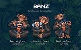 BANZ Bubzee baby gehoorbeschermer Graffiti_