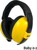 BANZ Bubzee baby gehoorbeschermer Gold (goudgeel)
