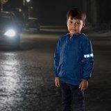 Reer reflecterend bandje met LED | blauw - monster
