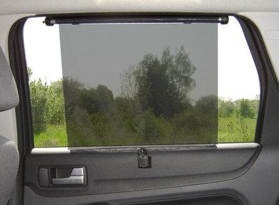 Oprolbaar zonnescherm auto (zij-/achterruit)