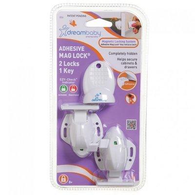 Dreambaby zelfklevend magneetslot (2 + 1 key)