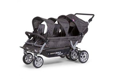 Wandelwagen Six Seater voor 6 kinderen