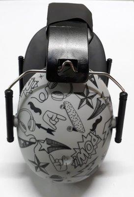 BANZ Kidz gehoorbeschermers graffiti