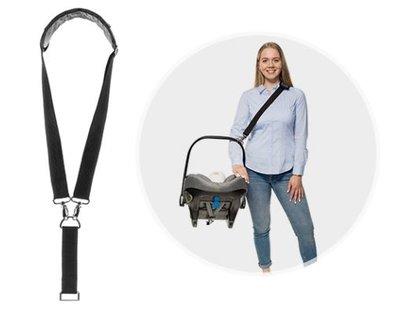 Clip & Go draagriem voor baby-autozitjes van Reer