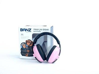 BANZ Bubzee baby gehoorbeschermer petal pink