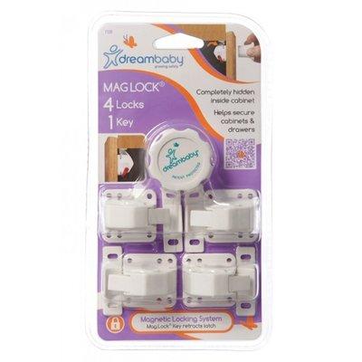 Mag Lock magneetslot Dreambaby (4 + 1 key)