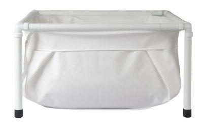 BiBaBad losse badzak voor Ultra Light 65 x 65 cm WIT