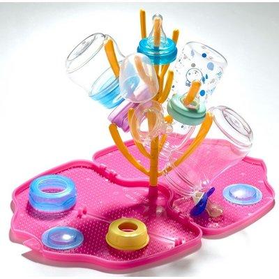 Litaf Shelli - Afdruiprekje voor babyflesjes - Roze