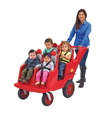 Bye- Bye Buggy 4 kinderen vervoeren