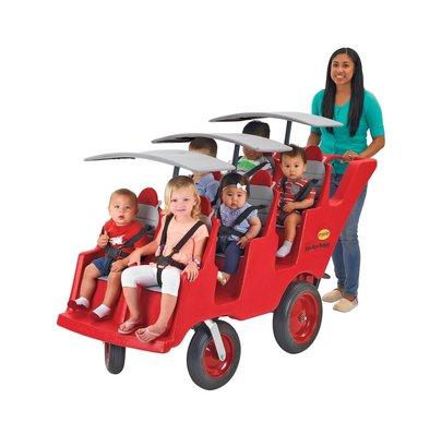 Bye- Bye Buggy 6 kinderen vervoeren