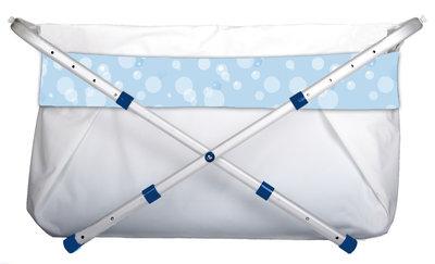 BiBaBad 1270 verstelbaar 70-90 cm - Blauw bubbels
