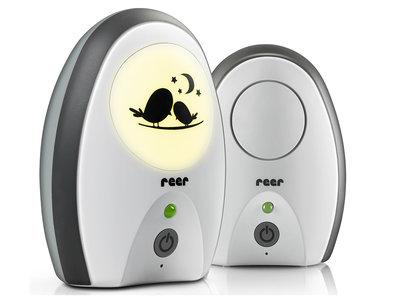 Digitale babyfoon RIGI van Reer wit/zwart