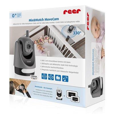 Mix&Match bewegende camera voor Video baby monitor