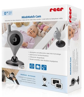Mix&Match vaste camera voor video babyfoon