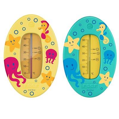 Reer badthermometer 'Onderwaterwereld' geel