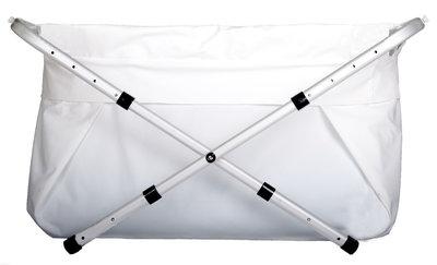 BiBaBad 1270 verstelbaar 70-90 cm - Wit