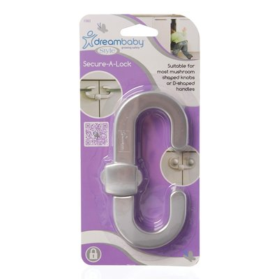 Dreambaby Secure-A-Lock Zilver