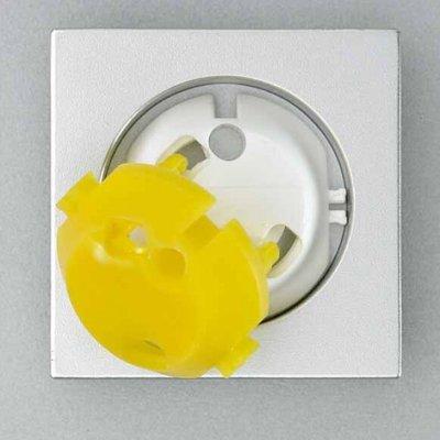 Jippie's blinde pluggen (5 stuks + gele sleutel)