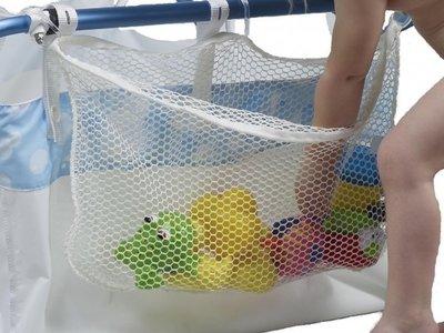 Bibabad opbergnet voor speelgoed