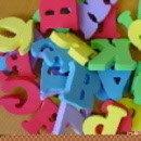 Jippie's badfoam cijfers en letters
