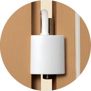 Reer deur- en raamblokkeerder (2 stuks)