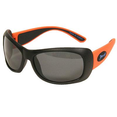 Junior BANZ zonnebril - Flexerz - Zwart Oranje (4-10 jaar)