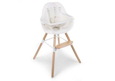 Babystoel EVOLU ONE 180° Wit 2 in 1 met beugel - Childhome