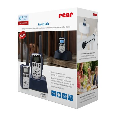 Reer Care&Talk 2in1 Babyfoon & walkie-talkie!