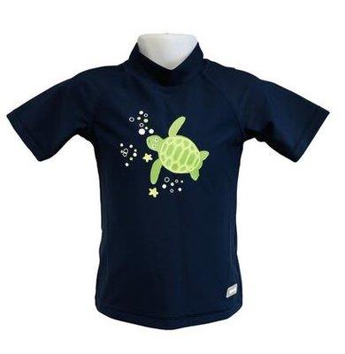 Banz UV beschermende zwemkleding - donker blauw/schildpad (0-4 jaar)