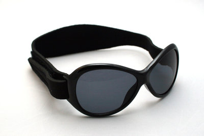 Baby BANZ retro zonnebril zwart (0-2 jaar)
