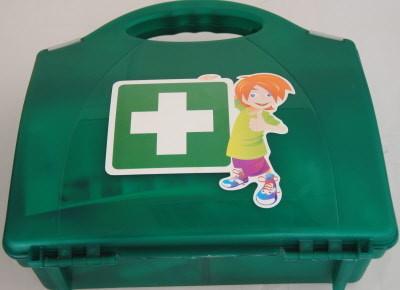 Kinderverband koffer Van Heek Medical