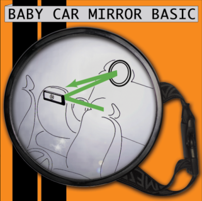 Miyali autospiegel groot