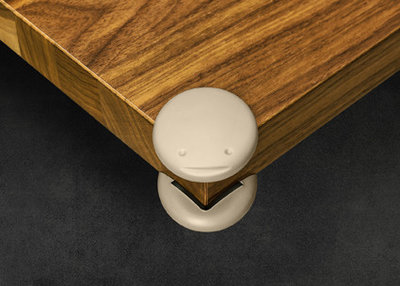 Design hoekbeschermers (8 stuks) - taupe