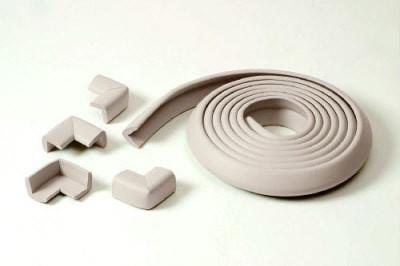 Jippie's rand-hoekbeschermer / tafelbeschermset Ecru