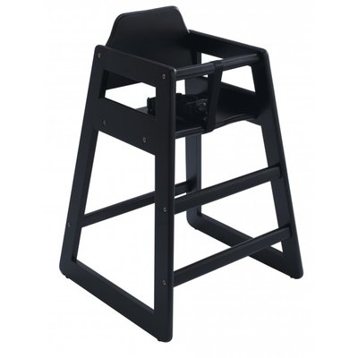 Jippie`s kinderstoel | Jippie's High Chair | Zwart