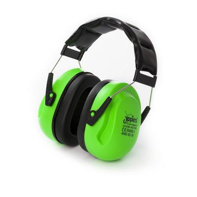 Jippie's gehoorbeschermer XL Groen.