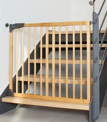 Reer Twin-fix Basic Active-Lock klem- en schroefhek hout | 75-104,5 cm