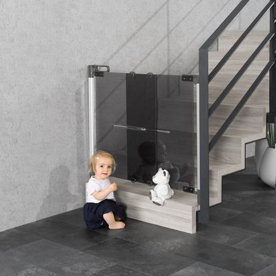 Reer DesignLine ClearVision deur-/ traphek Plexi