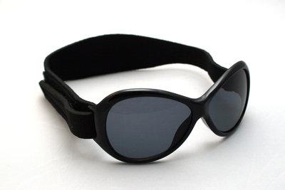 Baby BANZ retro range zwart babyzonnebril