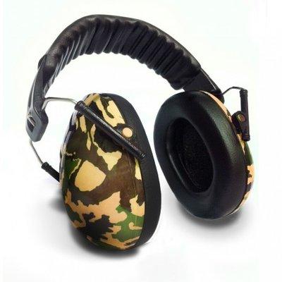 BANZ Kidz gehoorbescherming groen camouflage