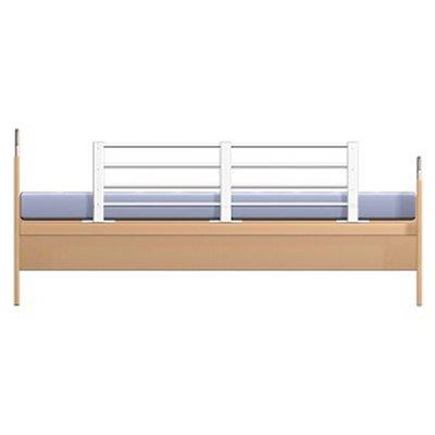 Reer in lengte en hoogte verstelbaar bedhek | Wit