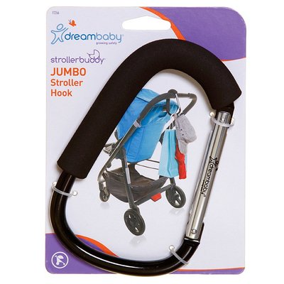 Strollerbuddy Jumbo buggy/wandelwagen haak | 1 stuks