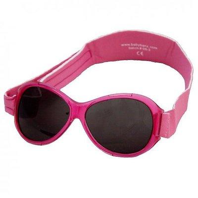 Baby BANZ retro pink babyzonnebril