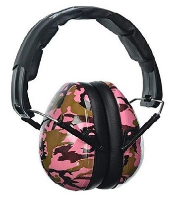 BANZ Kidz gehoorbescherming roze camouflage
